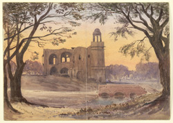 Ruins of Gironda Serai, near Delhi. February 1873